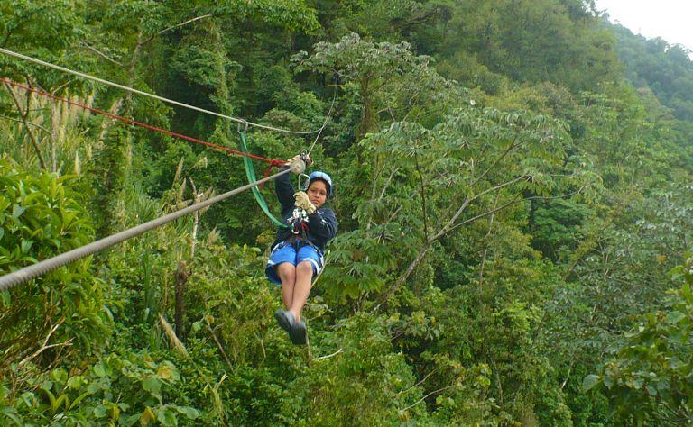 Latitudes Adventure - Canopy Ziplining in Costa Rica Main Image