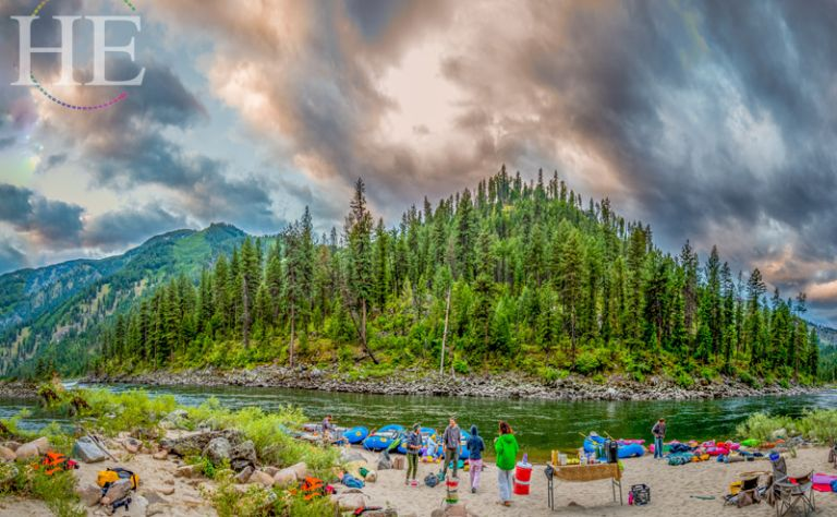 Middle Fork of the Salmon River Gay Rafting Adventure- HE Travel (August 2018) Main Image